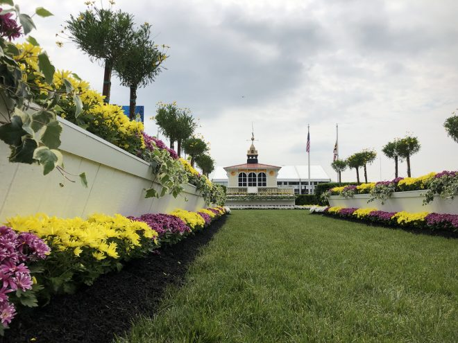 Preakness winner's circle at Pimlico