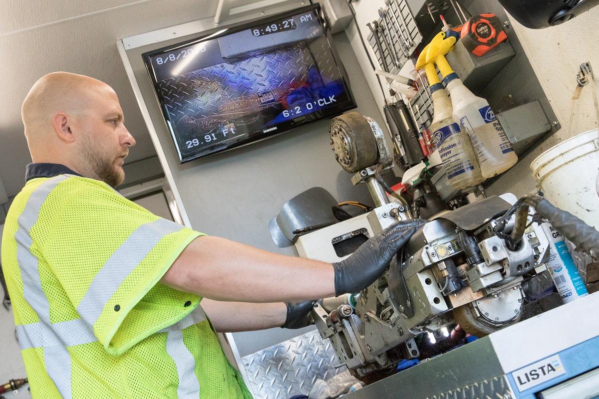 ULC Robotics CISBOT technician