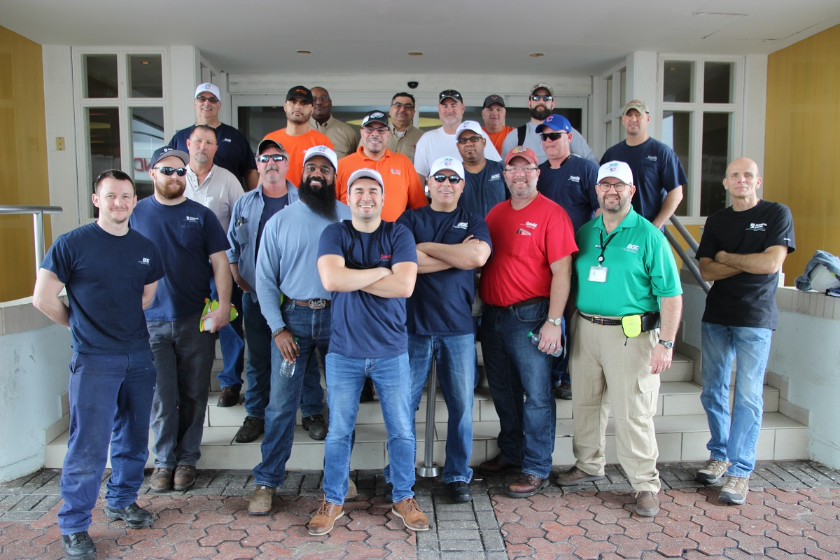 BGE crew in Puerto Rico after Hurricane Maria