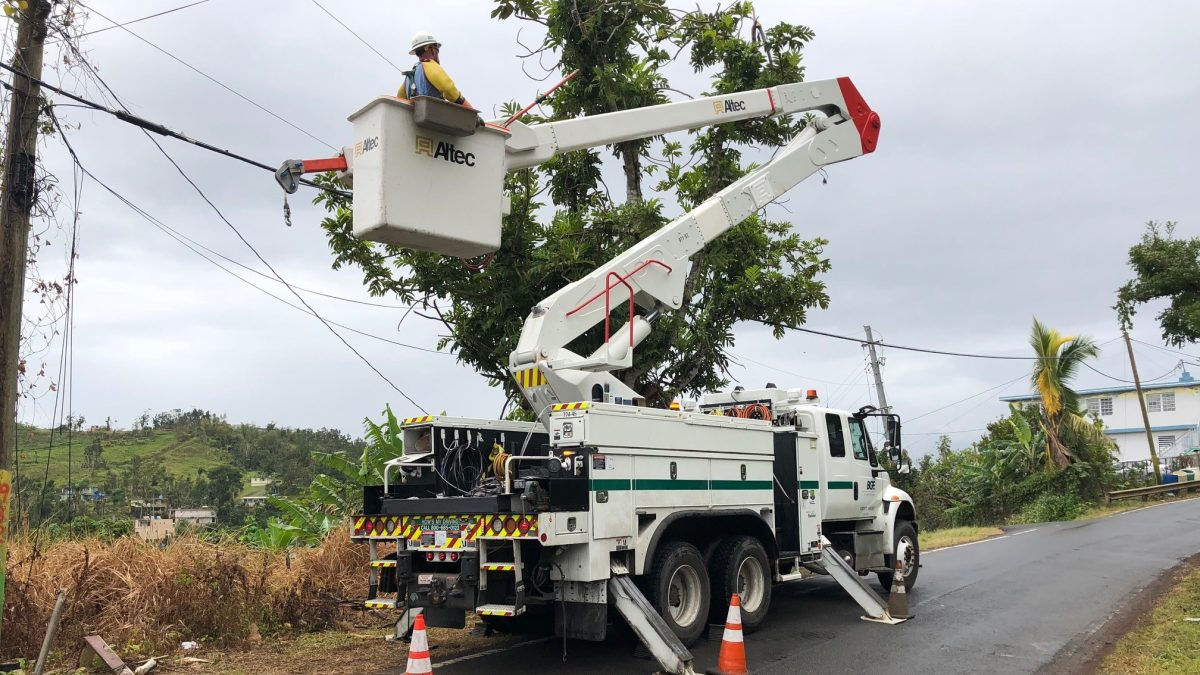 BGE in Puerto Rico for Hurricane Maria mutual assistance
