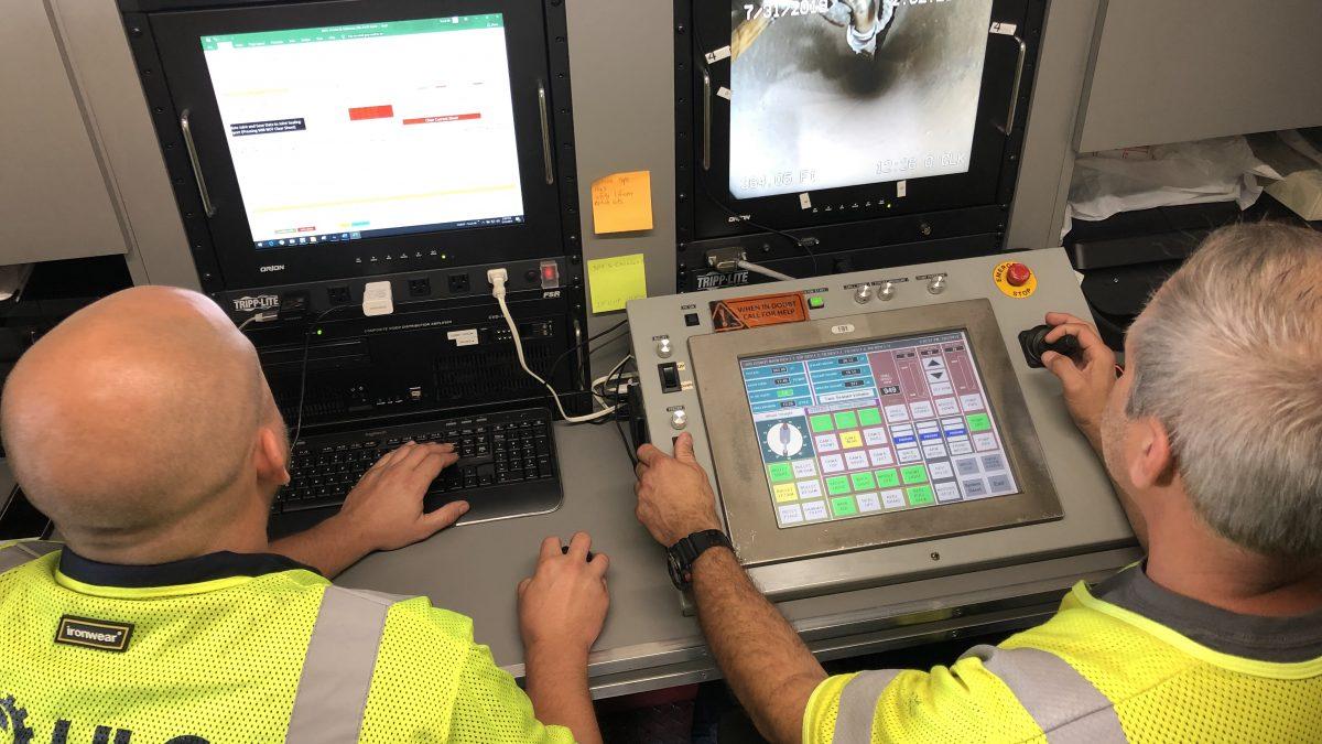 ULC Robotics CISBOT technicians
