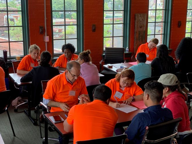Exelon Baltimore immigration law pro bono clinic