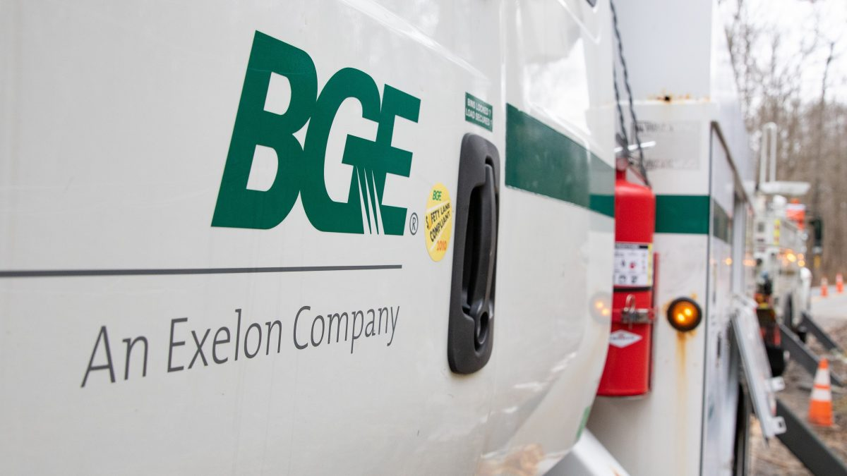 BGE truck in Essex