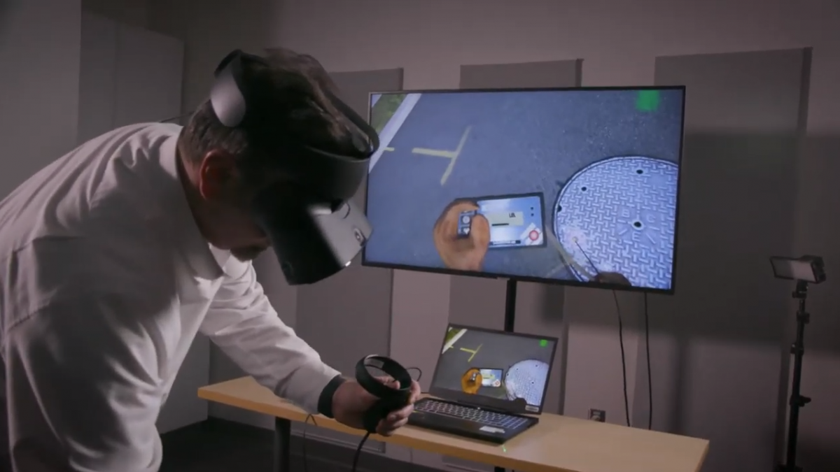 Showcase of BGE VR Training