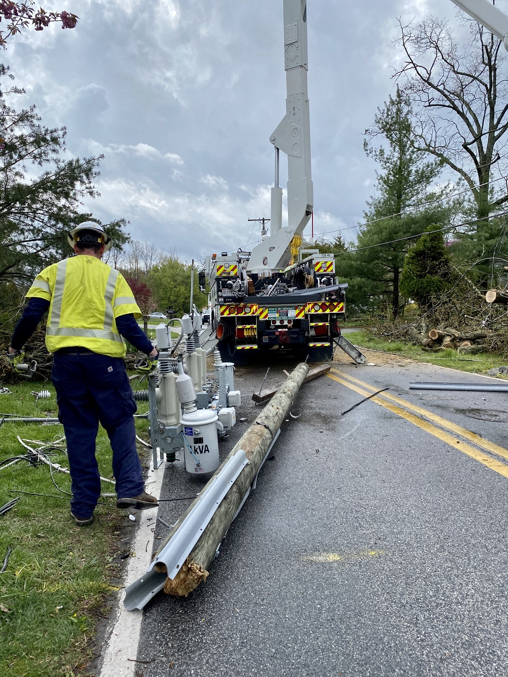 BGE crews repair storm damage