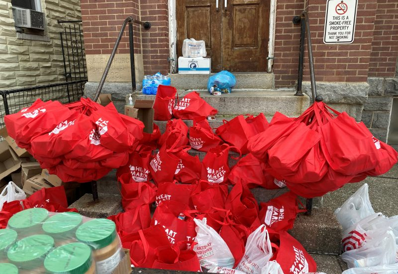 Highlandtown food donation