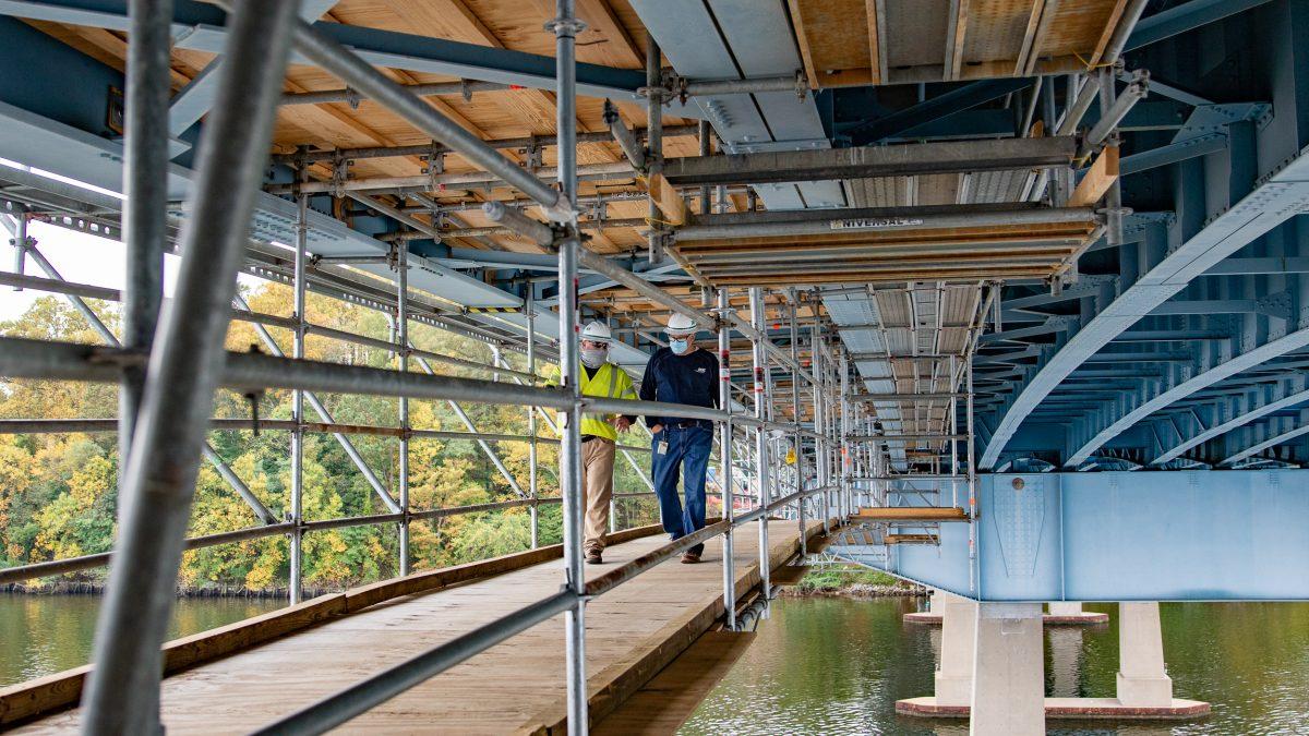 BGE Severn River Bridge gas main project