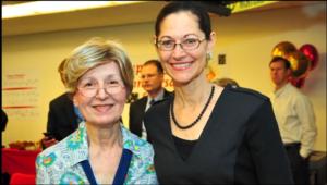 Sue Habin and Anne Pramaggiore, president and CEO, ComEd.