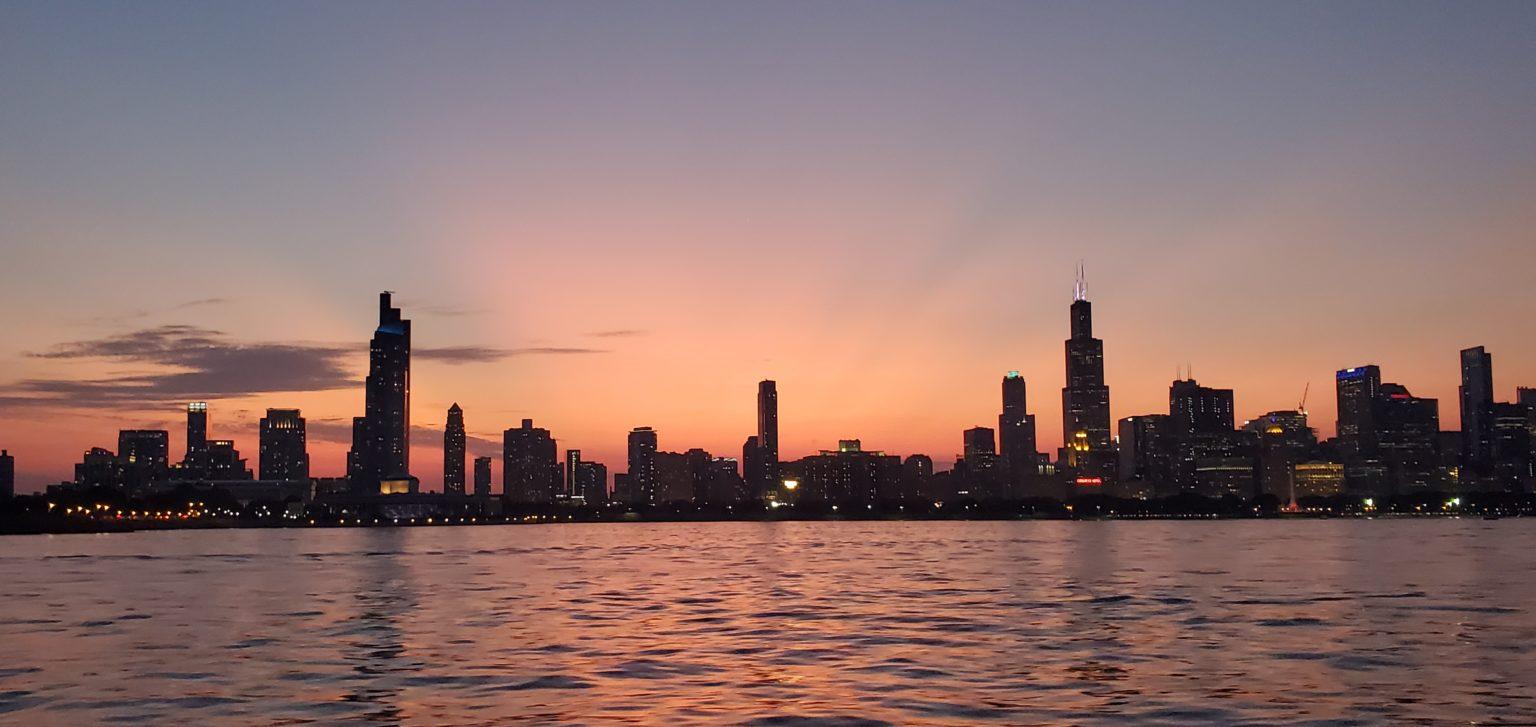 Second Place: Amy L. -- Lake Michigan, Chicago, Illinois