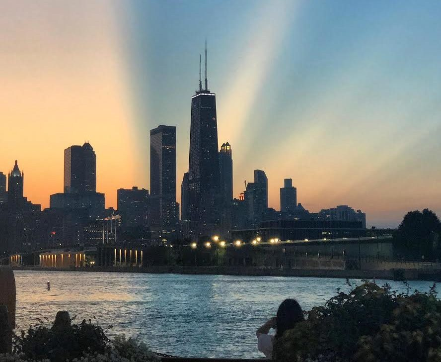 Fourth Place: Meggan D. -- Navy Pier, Chicago, Illinois