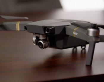 drone sitting on desk