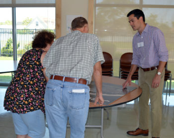 Jim DeSandro with Residents