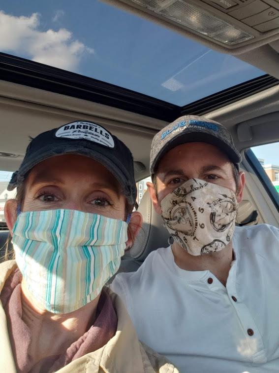 Erin and her husband